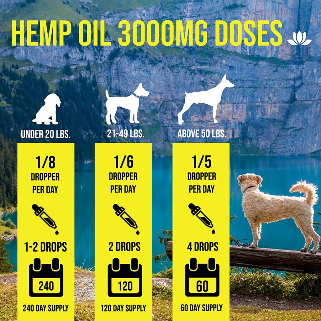 CBD Oil dosage chart